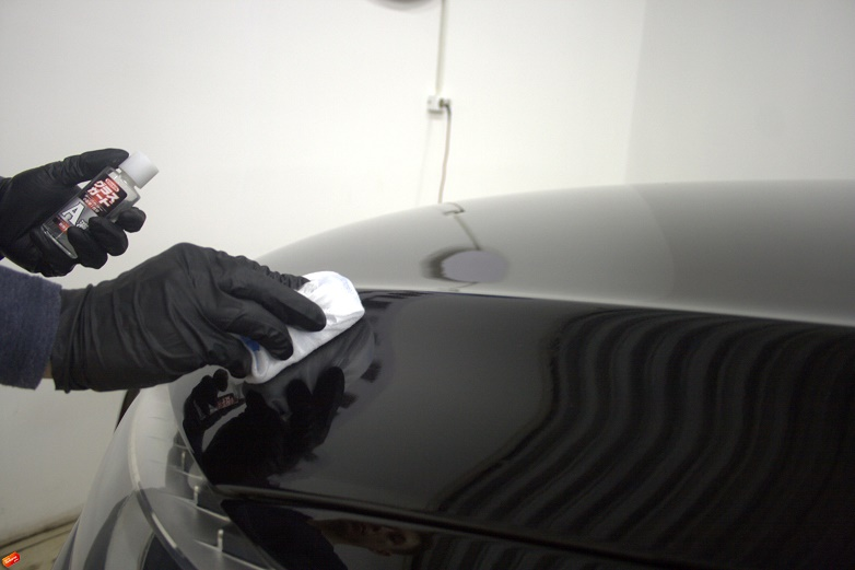 нанесение керамики на авто