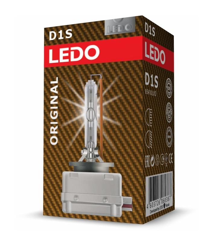 Лампа ксенон D1S LEDO