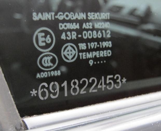 Маркировка стекол авто