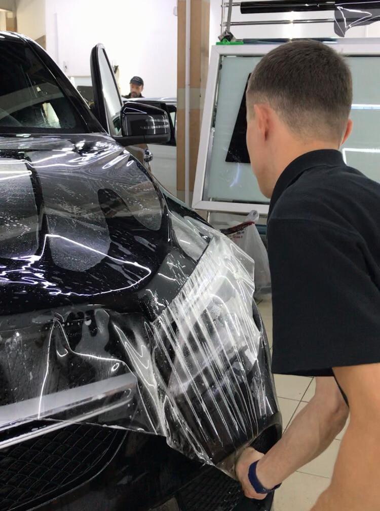защитная пленка на капот авто