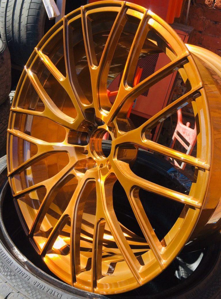 окраска дисков авто